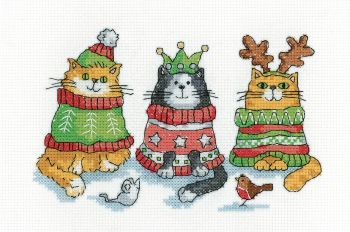 Christmas Jumpers Cats - Heritage Crafts