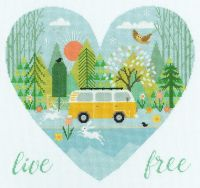 Live Free - Bothy Threads