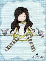 On Top of The World - Gorjuss Cross Stitch