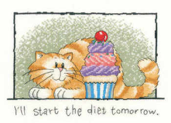 I'll start the diet Tomorrow... - Heritage Crafts