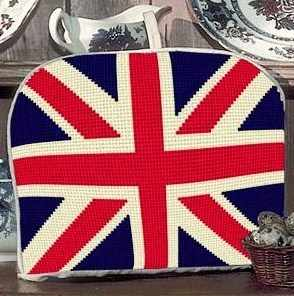 Teacosy Tapestry - Union Jack - (Stitched both sides)