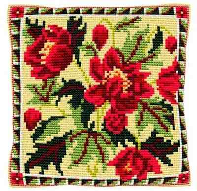 Almeria -  Cross Stitch Kit (printed canvas)