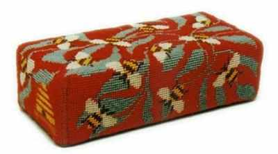 Tapestry Doorstop Kit - Red Bees