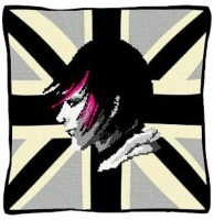 Union Jack Emo (Mono) - Urban Tapestry
