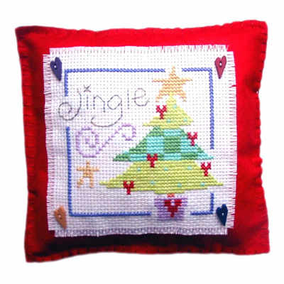 Tree Cushion - Christmas Cross Stitch