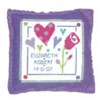 Love Cushion Cross Stitch