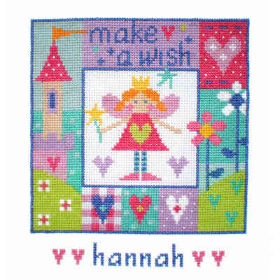 Birth Sampler - Baby Girl - Make a Wish