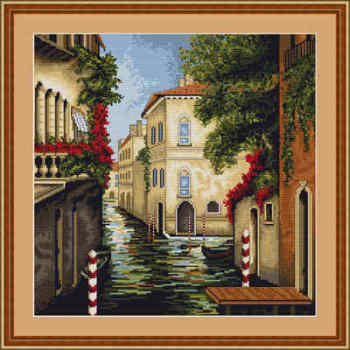 Venice in Colours - Luca-S Cross Stitch kit