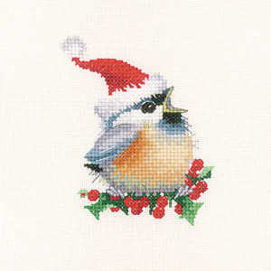 Christmas Chick - Valerie Pfeiffer Cross Stitch