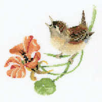Simply Wren - Valerie Pfeiffer Cross Stitch