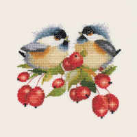 Berry Chick-Chat - Valerie Pfeiffer Chickadee