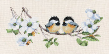 Blossom Buddies - Valerie Pfeiffer Cross Stitch
