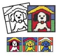 Puppy Tapestry Kit