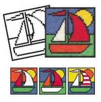 Boat Tapestry Kit