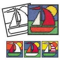 Boat Tapestry Kit