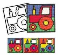 Tractor Tapestry Kit