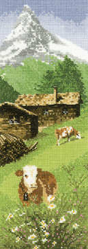Alpine Meadow - John Clayton International Cross Stitch