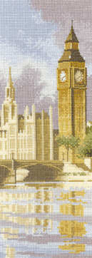 Big Ben - John Clayton International Cross Stitch