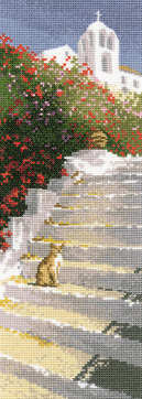 Greek Steps  - John Clayton International Cross Stitch