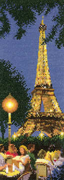 Paris - John Clayton International Cross Stitch
