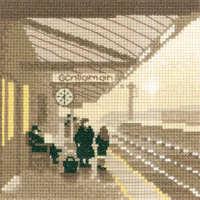 Platform - Sepia Cross Stitch