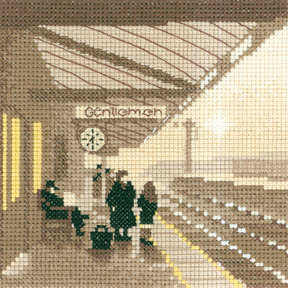 Platform - Sepia Cross Stitch
