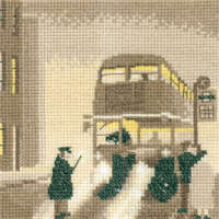 Pea Souper - Sepia Cross Stitch