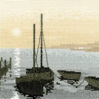 Safe Harbour - Sepia Cross Stitch
