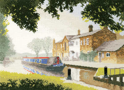 The Junction - John Clayton Cross Stitch