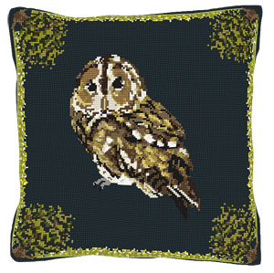 Tawny Owl Tapestry Kit - Brigantia Needlework