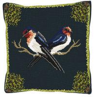 Wildlife Swallows Tapestry Kit