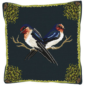 Swallows Tapestry Kit - Brigantia Needlework