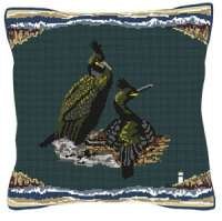 Seaside Nesting Pair Tapestry Kit