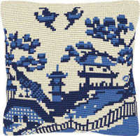 Kyushu -  Cross Stitch Kit (printed canvas)