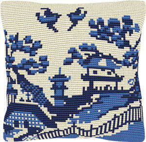 Kyushu -  Cross Stitch Kit (printed canvas)