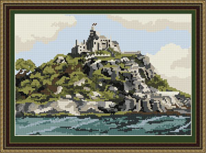 St Michaels Mount - Brigantia Needlework Tapestry Kit