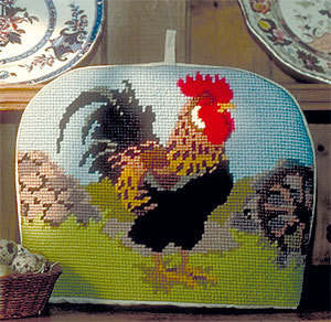 Cockerel - Cross Stitch Tea Cosy Kit