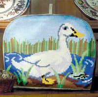 Duck - Cross Stitch Tea Cosy Kit