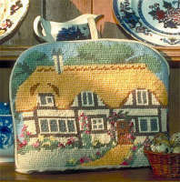 Cottage - Cross Stitch Tea Cosy Kit