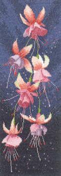 Fuchsia Floral Panel - John Clayton