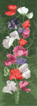 Sweet Pea Floral Panel - John Clayton