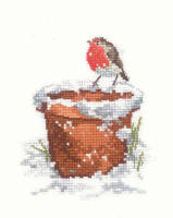 Garden Friend - Sue Hill Robin Cross Stitch