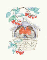 Hideaway - Sue Hill Robin Cross Stitch Kit