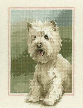 Westie Cross Stitch Kit - John Stubbs