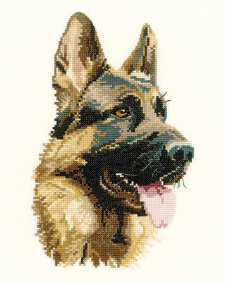 Cash - Animal Portraits Cross Stitch - Heritage Crafts