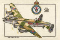 Avro Lancaster - Heritage Crafts Cross Stitch