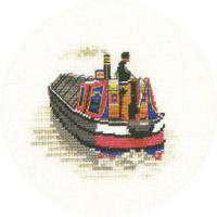 Traditional Narrow Boat - Heritage Crafts Cross Stitch