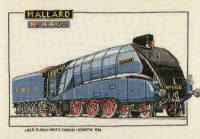 Mallard - Heritage Crafts Train Cross Stitch