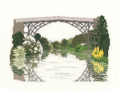 Ironbridge Gorge Cross Stitch Kit