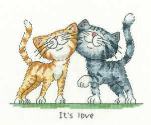 It's Love - Peter Underhill Cross Stitch